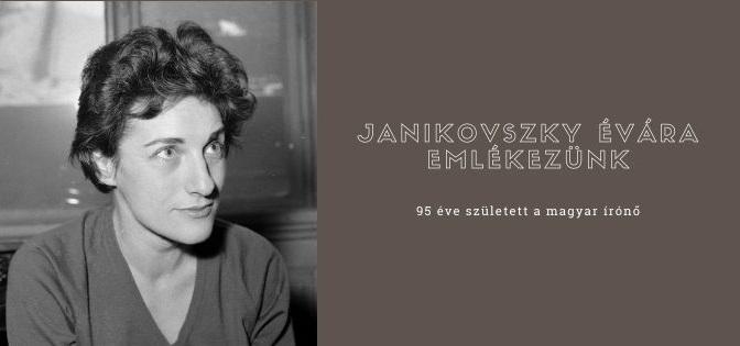 Janikovszky Éva születésének 95. évfordulójára emlékezünk