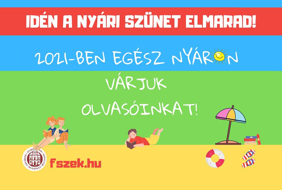 Így készül a nyárra a Fővárosi Szabó Ervin Könyvtár